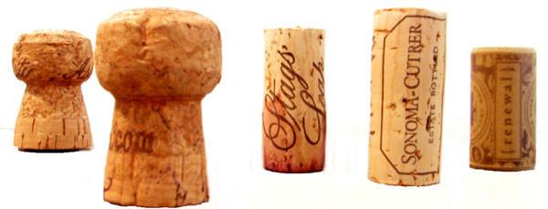 葡萄酒      全世界大多数的葡萄酒都带有木塞